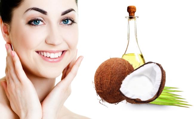 Chăm sóc da mặt bằng tinh dầu dừa hiệu quả