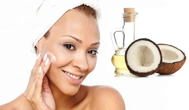 Chăm sóc da mặt đẹp mịn màng chỉ với tinh dầu dừa