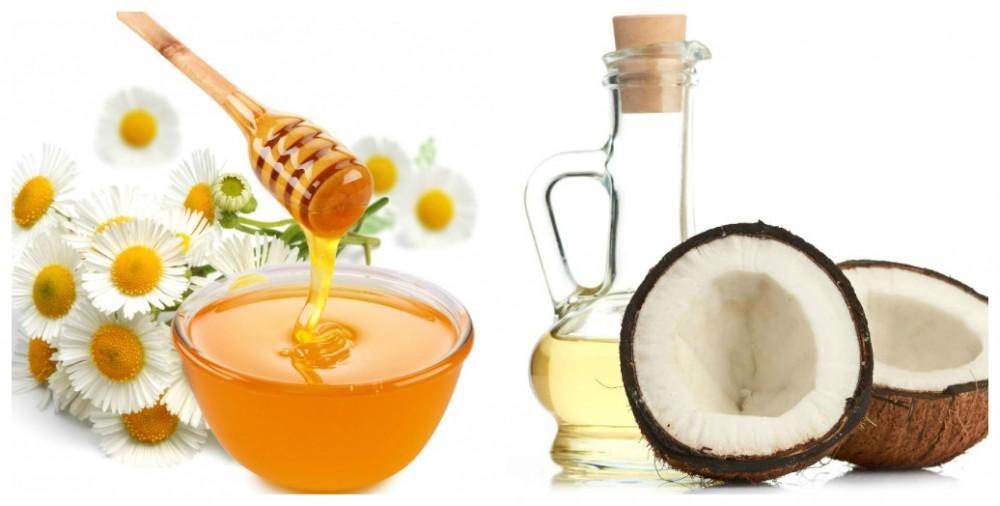mặt nạ dầu dừa mật ong