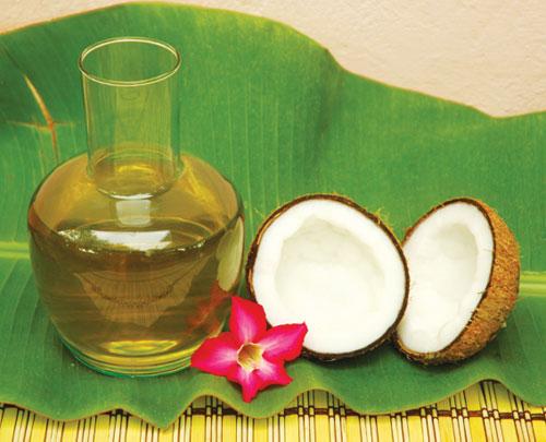 Tinh dầu dừa có tác dụng rất tốt cho cơ thể